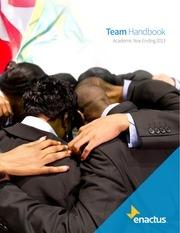 2013 enactus team handbook final