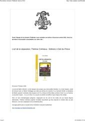 newsletter librairie the trale janvier 2012