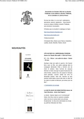 Fichier PDF newsletter librairie the trale octobre 2012