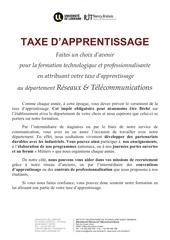 plaquette taxe apprentissage r t fb