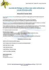 formulaire inscription roulage galce orcieres du 27 janvier 2013