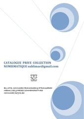 Fichier PDF catalogue numismatique prive sublimae gmail com