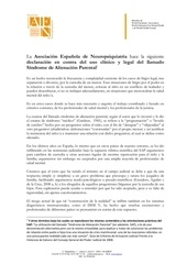 association espagnole de neuropsychiatrie