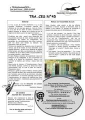 Fichier PDF traces 45