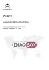 Fichier PDF manuel diagbox