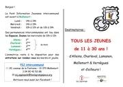 Fichier PDF flyer officiel