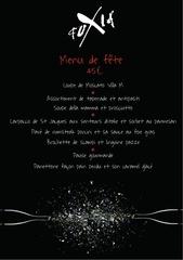 menu reveillon 2012 2013