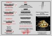 programme ecole de cuisine 2013 1