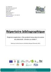 recueil bibliographique