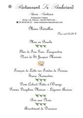 a distribuer menu jour de l an et 1er janvier 2013