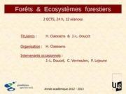 f ef ecosysteme 2012