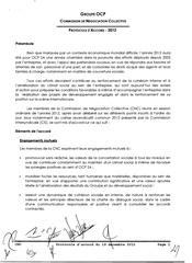 protocole d accord 2012 1