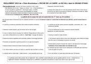 reglement 2012 de la peche de la carpe dans le grand etang