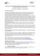 appel a candidature ws