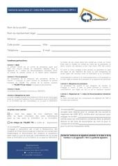 contrat de souscription