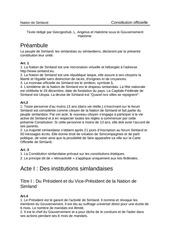 constitution de la nation de simland