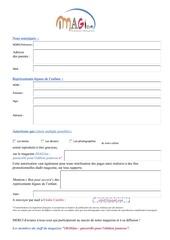 autorisation publications enfants