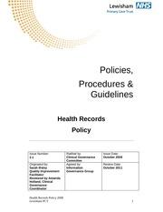 19a health records policy v 2 1 1