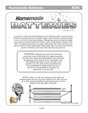 396 homemade batteries