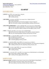 Fichier PDF cv 2012