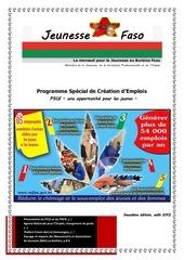 newsletter 2 jeunesse faso