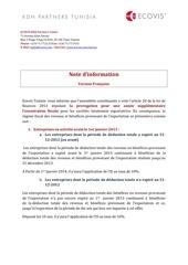 Fichier PDF note d information entreprises totalement exportatrices tunisie