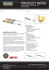 Fichier PDF ohlins prodnews 201212 r t auto bmw m3 e46 pdf