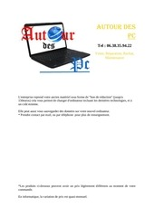 autourdespc tarifs 2013