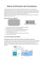 Fichier PDF notice osmolateur