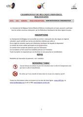 0333 championnat de belgique individuel malvoyants