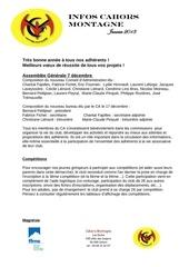 bulletin infos janvier 2013