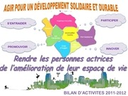 bilan activit dsd 2011 2012