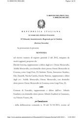 http www giustizia amministrativa it documentiga catanzaro sezione 202 2012 201200002 provvedimenti 201300039 01