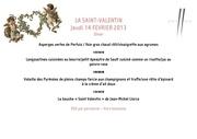menu et forfait saint valentin 2013