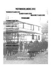 programme weitbruch libere 2