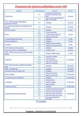 programme des emissions philatelique annee 1997