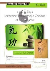 affiche medecine chinoise