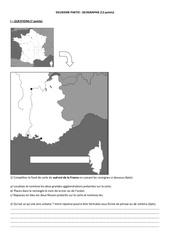 brevet blanc de fevrier geographie
