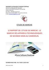 Fichier PDF le marche des outils technologiques de seconde main au cameroun
