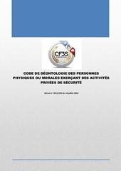 code de deontologie a4 cf3s