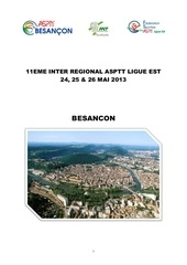 plaquette presentation 11eme interregionale cyclo