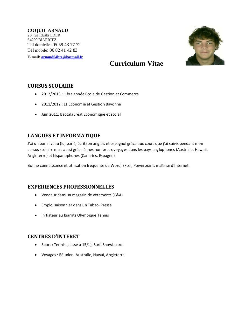 aper u00e7u du fichier cv arnaud pdf  2