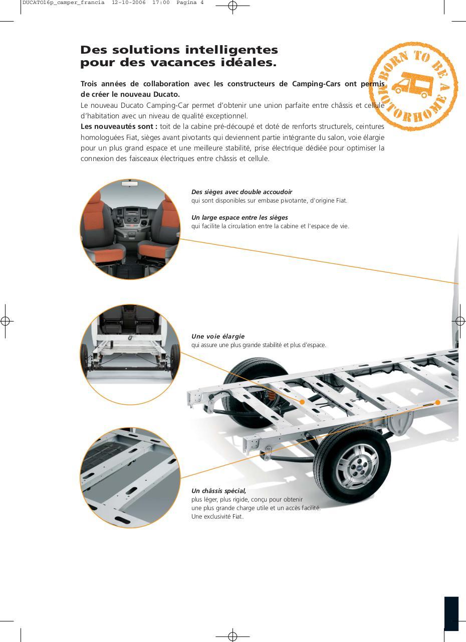 ducato16p camper francia par paolo chiarello fiat ducato camping car pdf fichier pdf. Black Bedroom Furniture Sets. Home Design Ideas