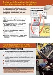 informations techniques logiciel autodata cda 2