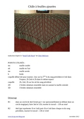 Fichier PDF small talk shawl traduit