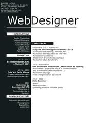 Fichier PDF c v