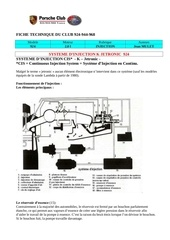 Fichier PDF injection k jetronic porsche 924