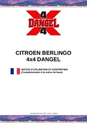 Fichier PDF notice citroen berlingo 4x4 dangel