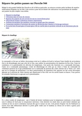 Fichier PDF reparer les petites pannes sur porsche 944