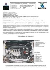 installation kit gpi c pour renault megane scenic 2 0 16 v
